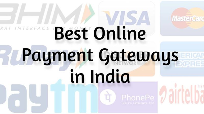 Best Online Payment Gateways in India